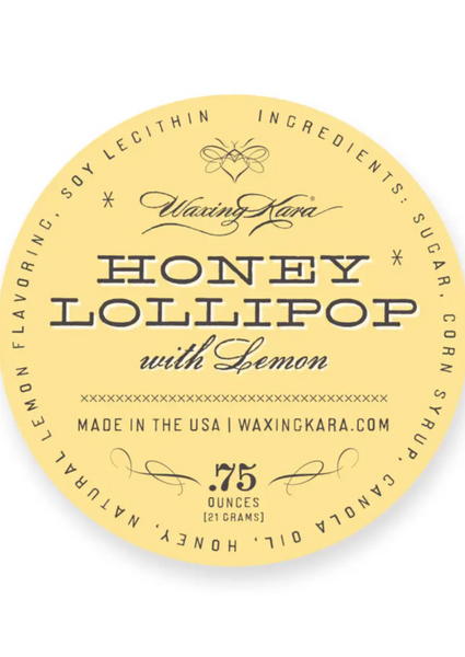 Waxing Kara - Lemon Honey Lollipop