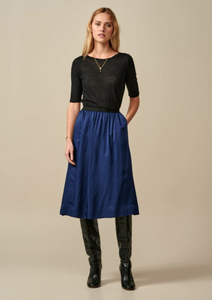 Bellerose - Houx Skirt: Worker Blue