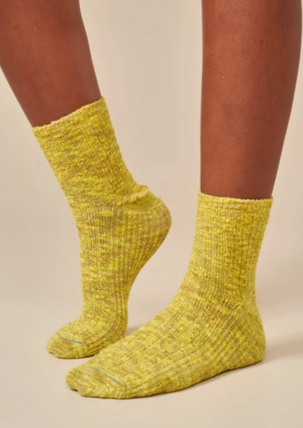 Bellerose - Fich Socks: Yellow