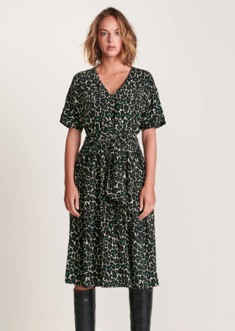 Bellerose - Hoek Dress: Poppy Print - ouimillie