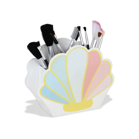 Marcela Homrich- Mermaid Shell Makeup Storage - ouimillie