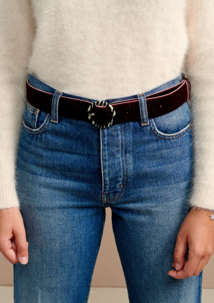 Bellerose - Sabeau Belt: Burgundy