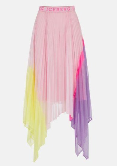 Iceberg - Pleat Mesh Skirt