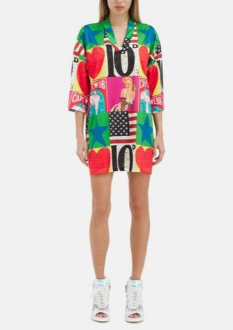 Iceberg - Peter Blake Icon Jersey Dress