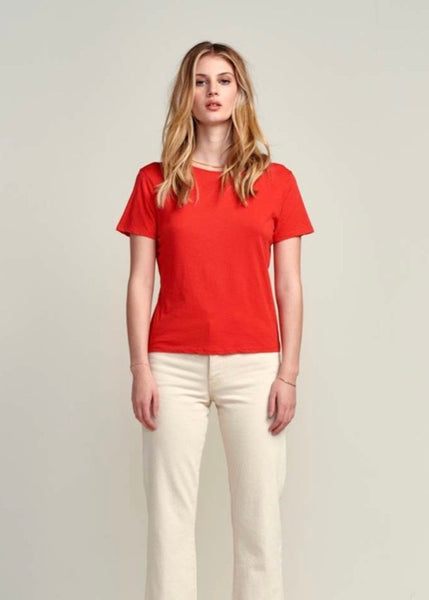 Bellerose, Cox T-Shirt: Massai Red