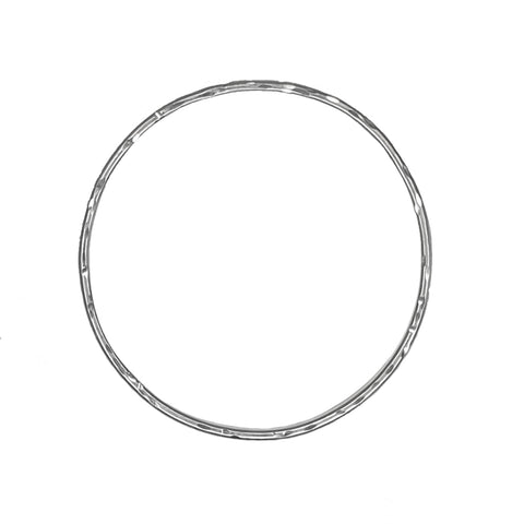 Signature 2.5mm Hammered Bangle