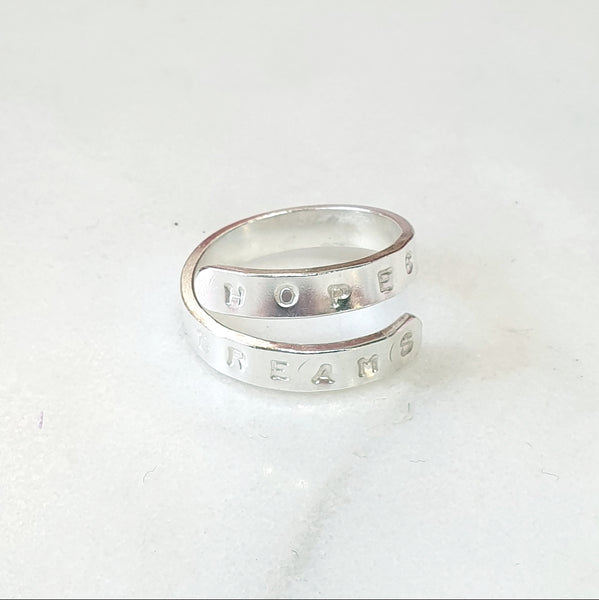 Signature Quote Ring