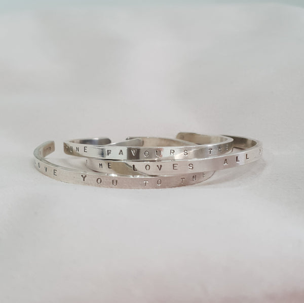 Signature Skinny Cuff Bangle