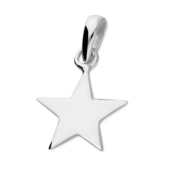 Flat Star Necklace