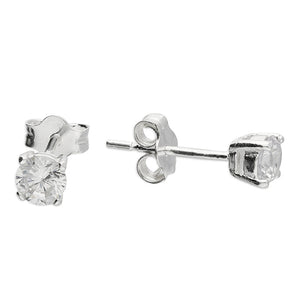 Mini Claw Set CZ Studs