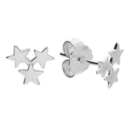 Mini Triple Star Studs