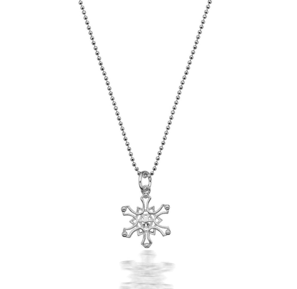 Winter Snowflake Necklace