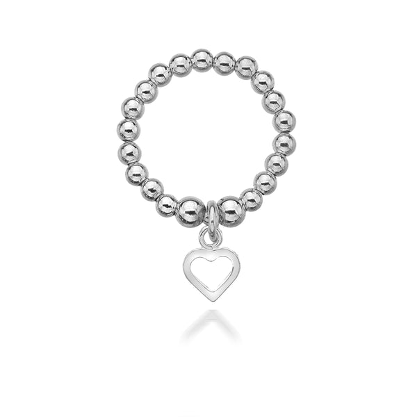 Annabelle Open Heart Ring