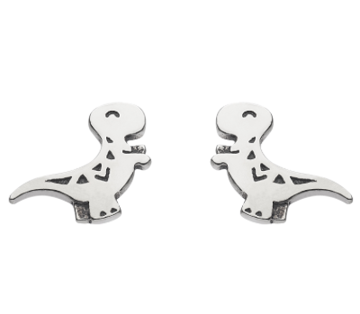 Dinky T-Rex Dinosaur Earrings