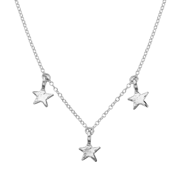 Signature 3 Point Mini Star Necklace