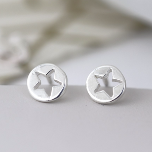 Mini Cut out Star Studs