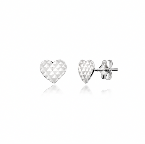 My Love Heart Studs