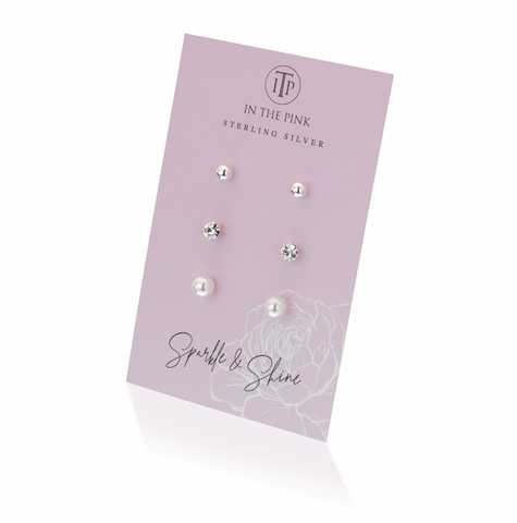 Triple Earring Set
