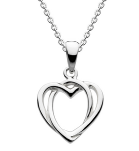 Celtic Open Heart Necklace