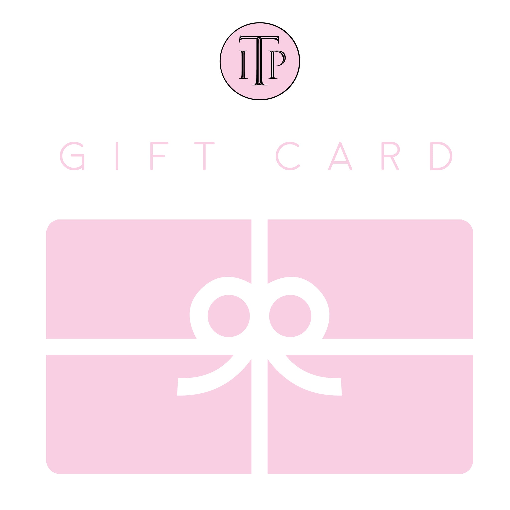 In The Pink Gift Card