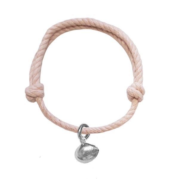 Signature Clam Shell Rope Bracelet