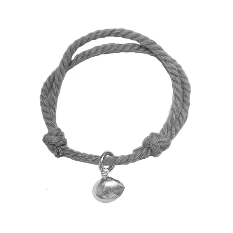 Signature Clam Rope Bracelet