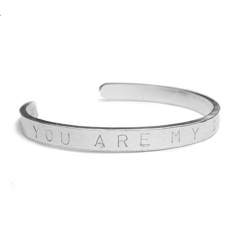 Signature Quote Cuff Bangle