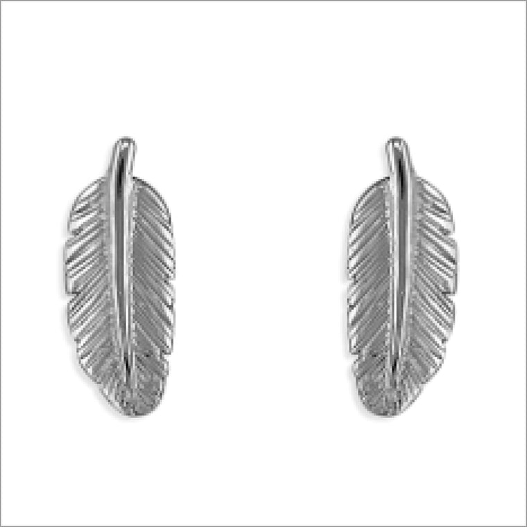 Feather Earring Studs