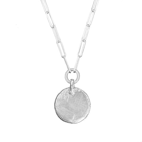 Signature Full Moon Trace Necklace