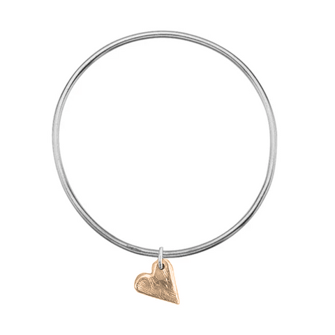 Signature Gold All My Love Bangle