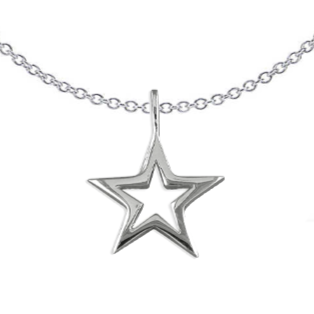 Large Open StarNecklace