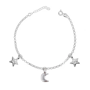 To the Moon & The Stars Bracelet