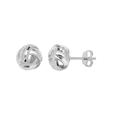 Beaded Knot Studs