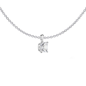 Princess Cut Necklace