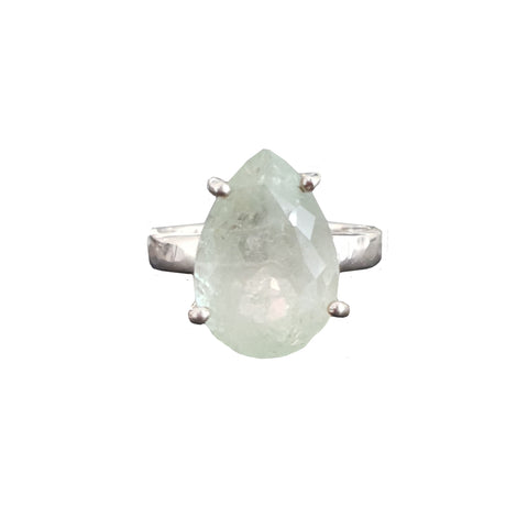 Signature Stone Teardrop Ring