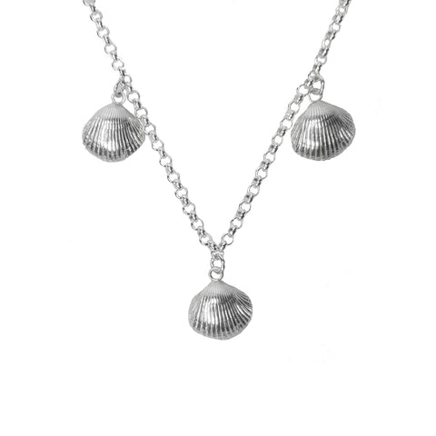 Signature 3 Point Cockle Shell Necklace