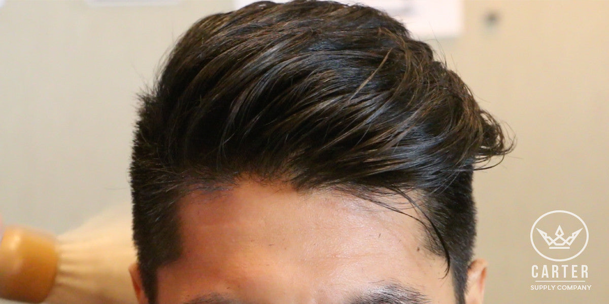 Popular Asian Hairstyles Vented Brush Adds Volume Texture Men