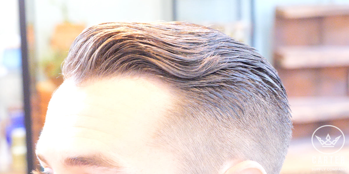 Best Hard Part Hairstyle Soccer Player Inspired Haircut Classy