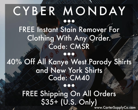 Carter Supply Company Cyber Monday Sale