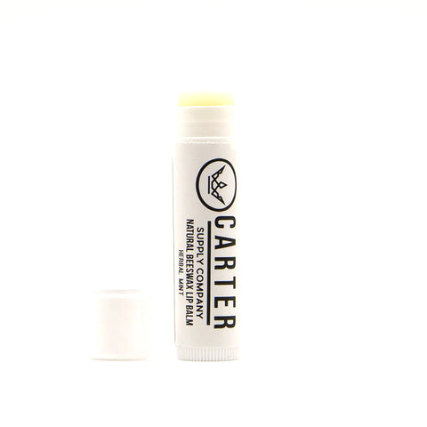 Natural Beeswax Lip Balm | Herbal Mint