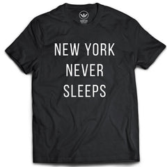 Carter Supply Company New York Never Sleeps Shirt Black Front
