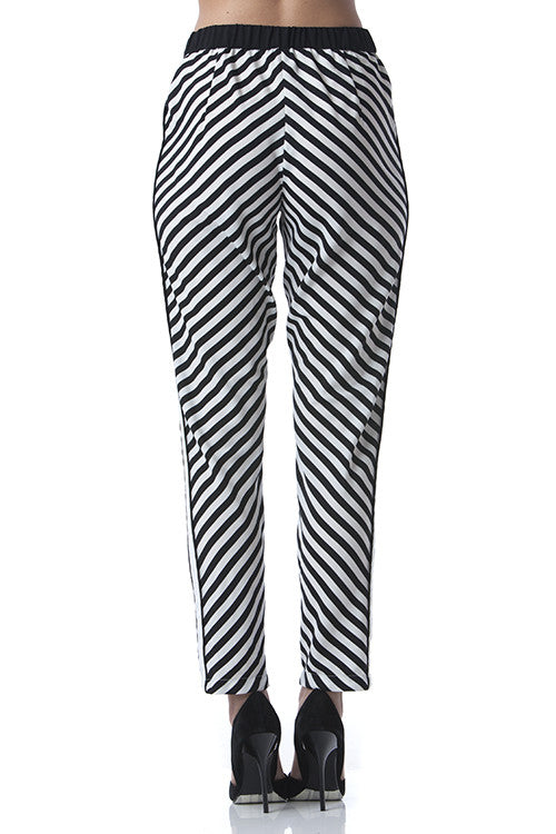 Black & White Pants -  - Bottom - COME SHOP WITH LOVE - 3