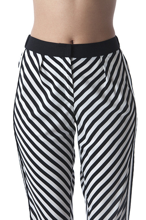 Black & White Pants -  - Bottom - COME SHOP WITH LOVE - 4