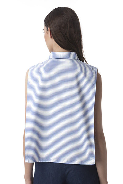 Boxy Stripes Top -  - Top - COME SHOP WITH LOVE - 1