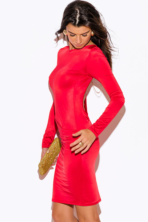 Backless and Beautiful Fire Dress -  - Dress - COME SHOP WITH LOVE - 3
