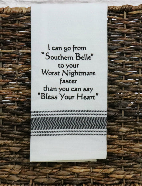 Southern Belle Tea Towel