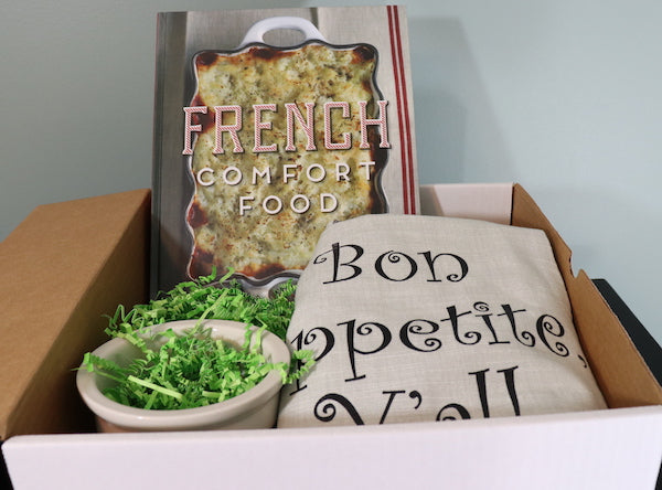 French Themed Cooking Gift Box--$65