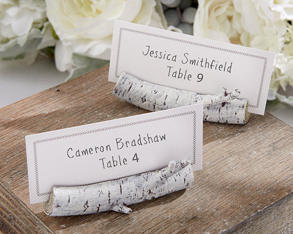 Birch Place Card Holder (Set of 6)