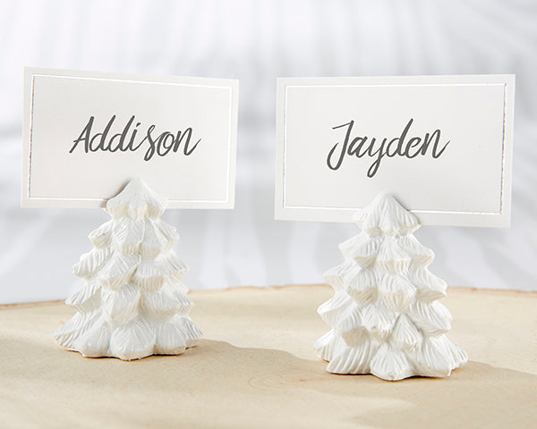 White Pine Tree Place Card Holders (Set of 6)