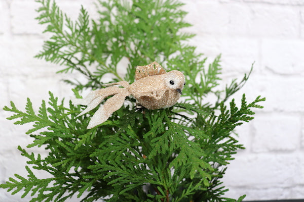 Set of 3 Clip On Bird Ornaments